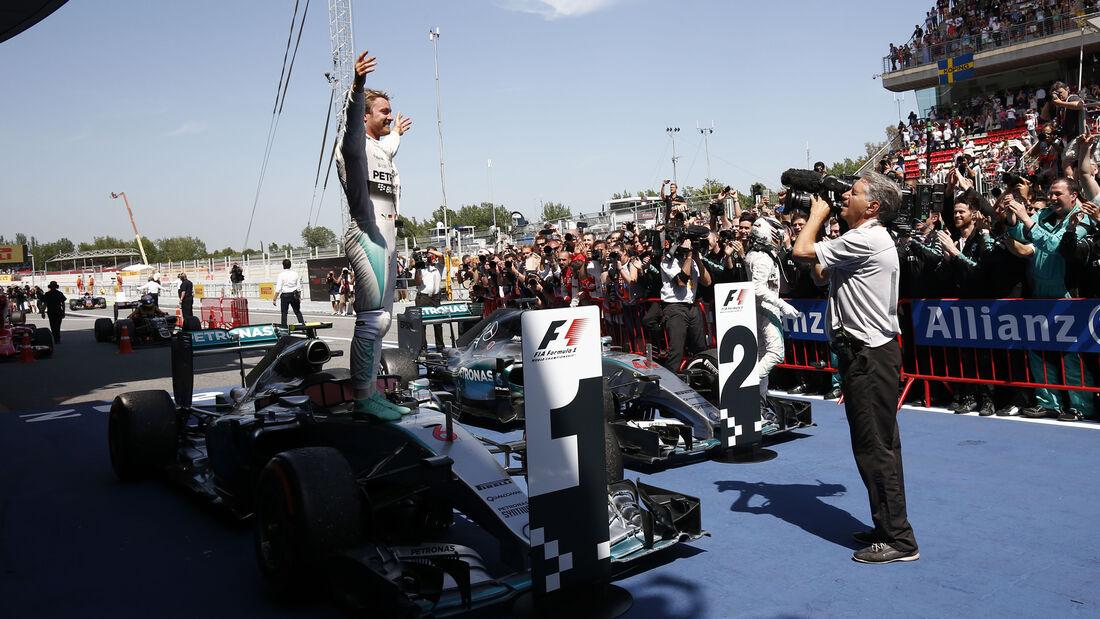 Nico Rosberg - GP Spanien 2015