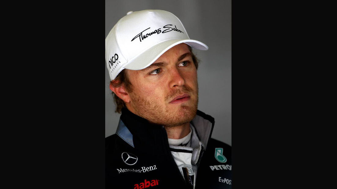 Nico Rosberg GP Türkei 2011