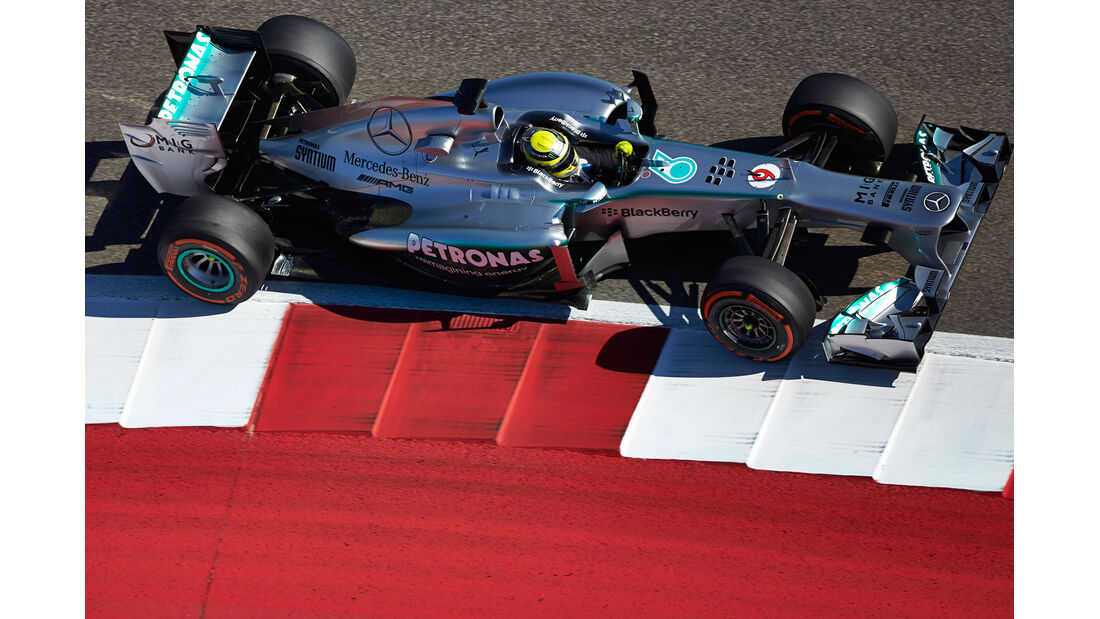 Nico Rosberg - GP USA 2013
