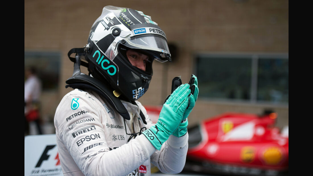 Nico Rosberg - GP USA 2015