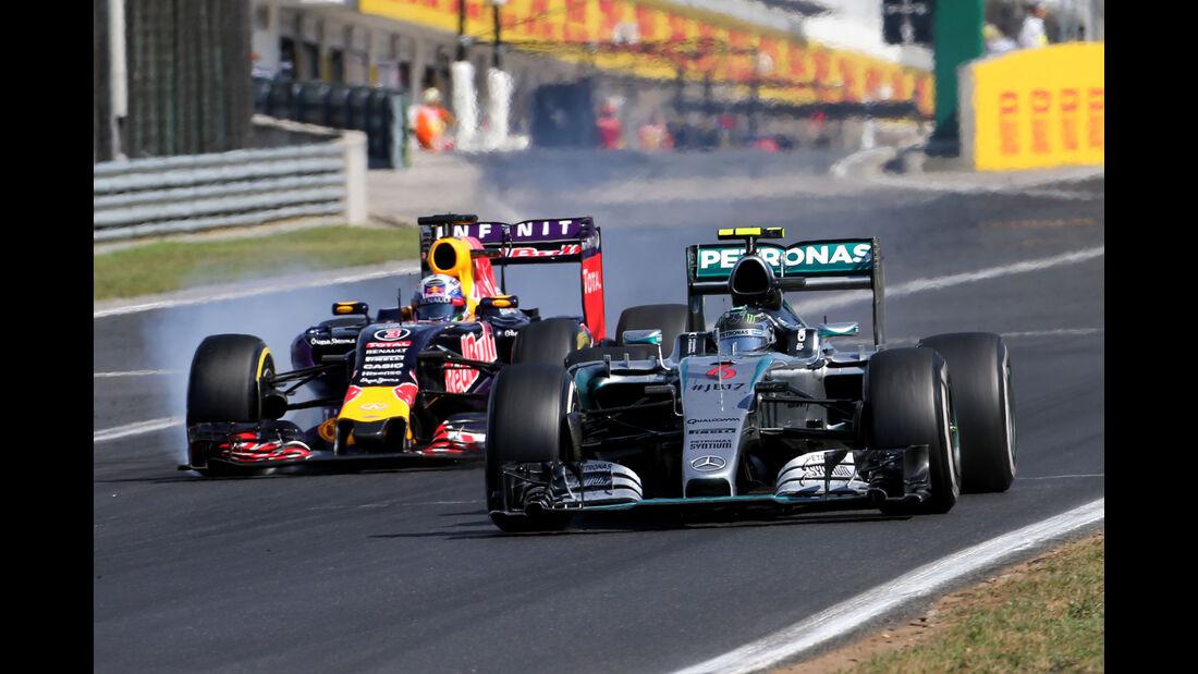 Nico Rosberg - GP Ungarn 2015