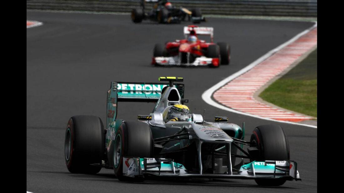 Nico Rosberg - GP Ungarn - Formel 1 - 29.7.2011