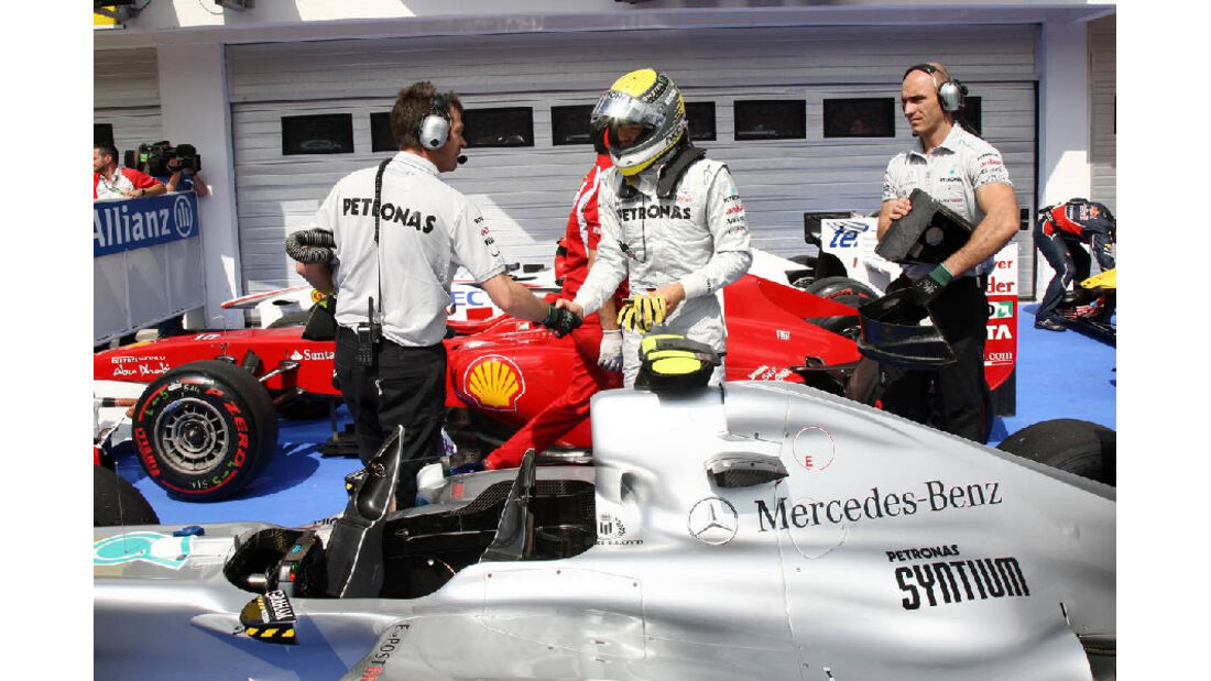 Nico Rosberg - GP Ungarn - Formel 1 - 30.7.2011