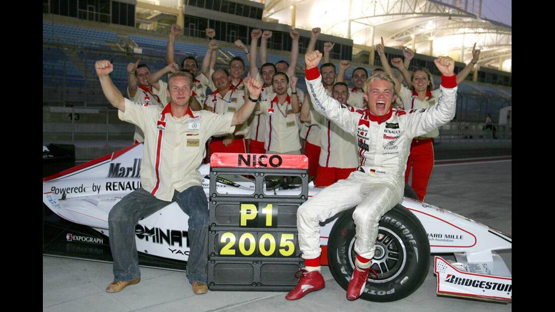 Nico Rosberg GP2 Champion 2005