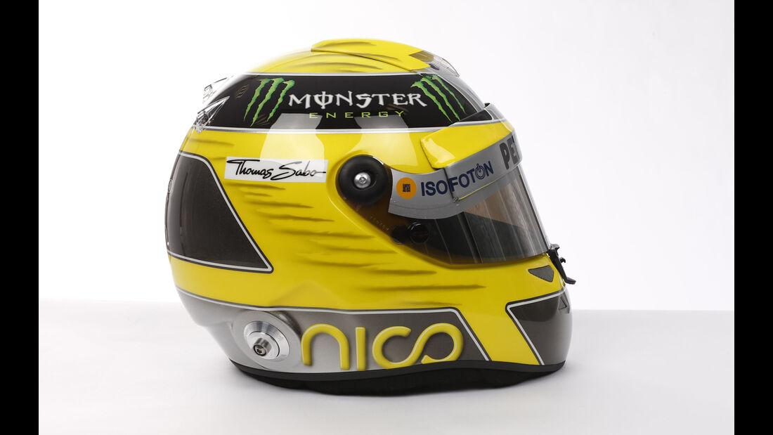 Nico Rosberg Helm 2013