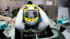 Nico Rosberg - Helm - 2013