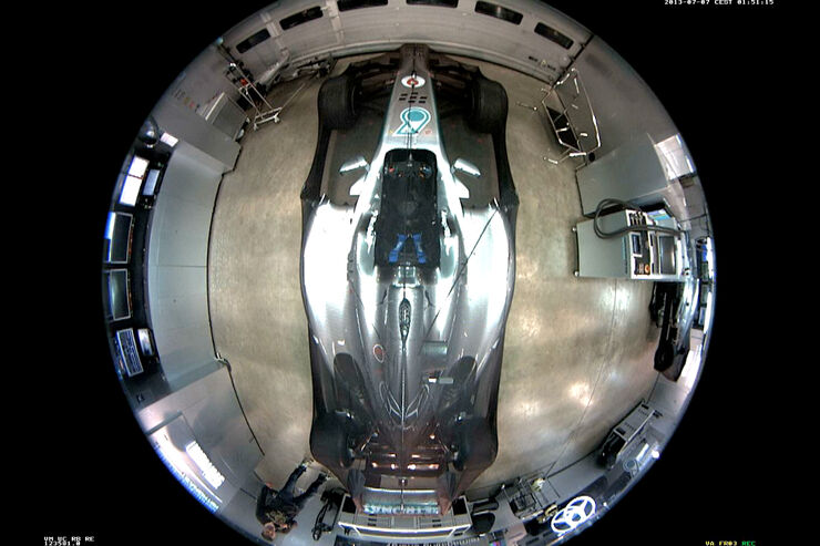 Nico Rosberg - Helm-Dieb 2013