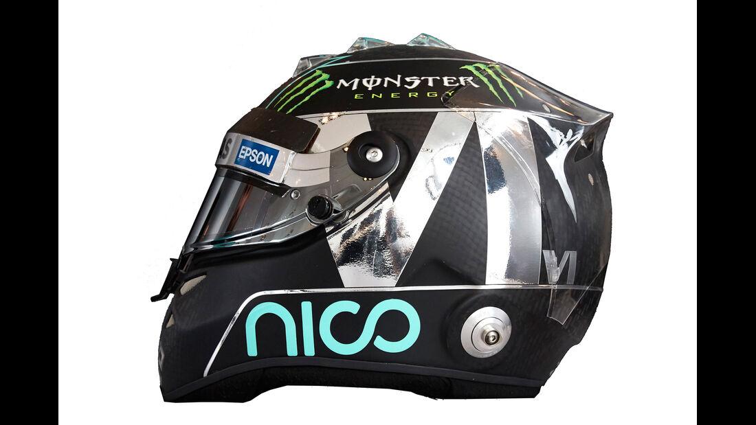 Nico Rosberg - Helm  - Formel 1 - 2015