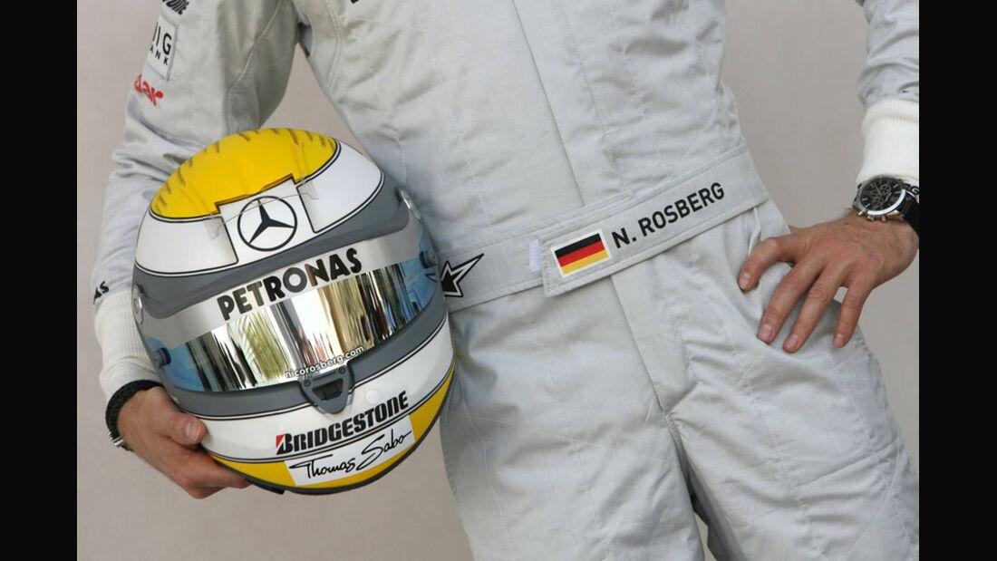 Nico Rosberg Helm