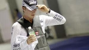 Nico Rosberg, Kühlweste