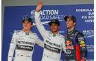 Nico Rosberg - Lewis Hamilton - Daniel Ricciardo  - Formel 1 - GP Australien - 15. März 2014
