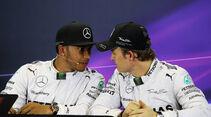 Nico Rosberg - Lewis Hamilton  - Formel 1 - GP Australien - 15. März 2014