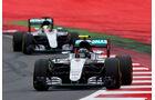 Nico Rosberg - Lewis Hamilton - Formel 1 - GP Österreich - 3. Juli 2016
