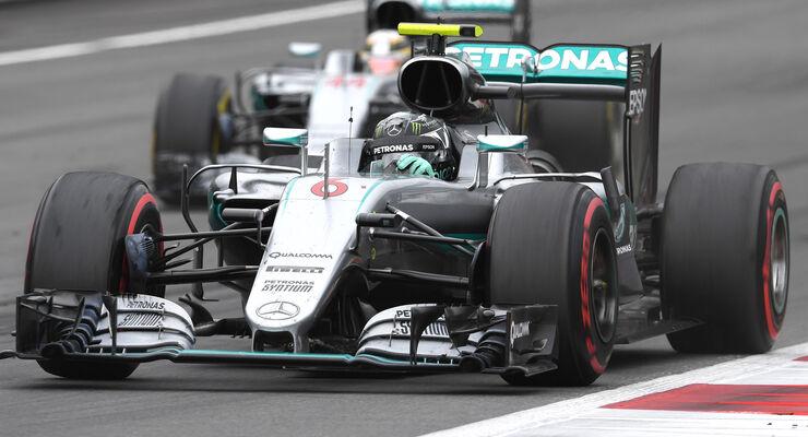 Nico Rosberg & Lewis Hamilton - GP Österreich 2016