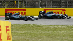 Nico Rosberg & Lewis Hamilton- GP Spanien 2016