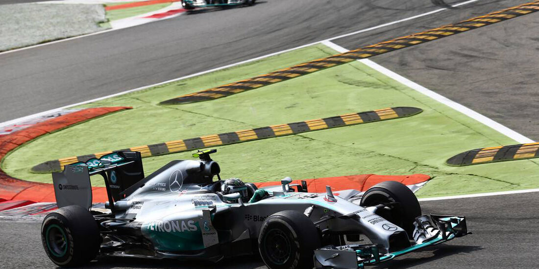 Nico Rosberg - Lewis Hamilton - Mercedes - GP Italien - Formel 1 - 7. September 2014