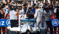 Nico Rosberg - Lewis Hamilton - Mercedes - GP Spanien 2015 - Rennen - Sonntag - 10.5.2015