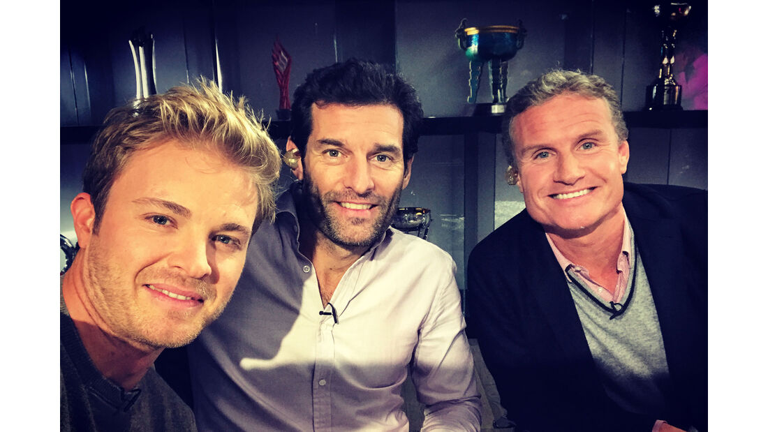 Nico Rosberg - Mark Webber - David Coulthard