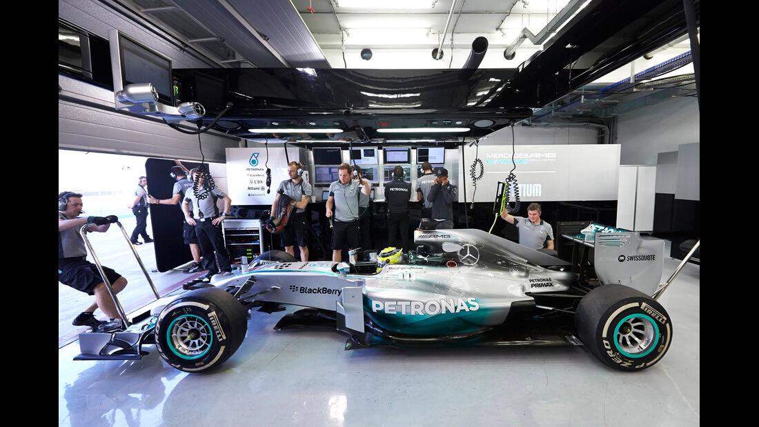 Nico Rosberg - Mercedes - Bahrain - Formel 1 Test - 2014