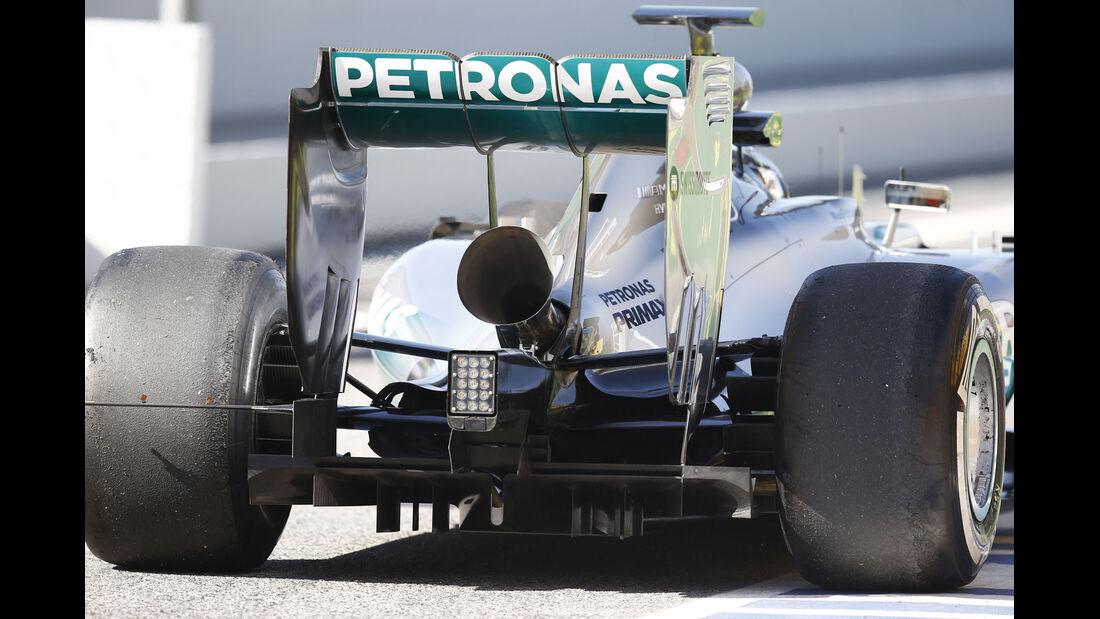 Nico Rosberg - Mercedes - Barcelona - F1 Test 2 - 14. Mai 2014