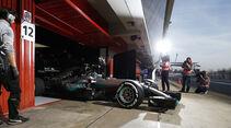 Nico Rosberg - Mercedes - Barcelona - F1-Test - 2016