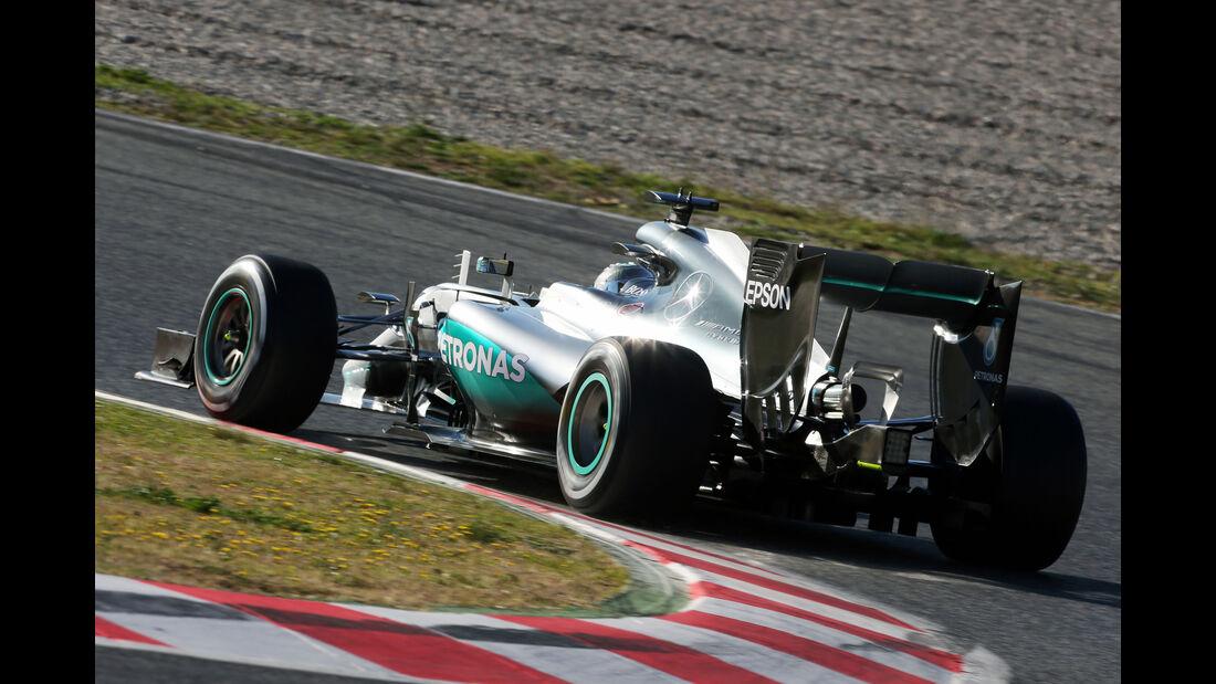 Nico Rosberg - Mercedes - Barcelona - Formel 1-Test - 1. März - 2016