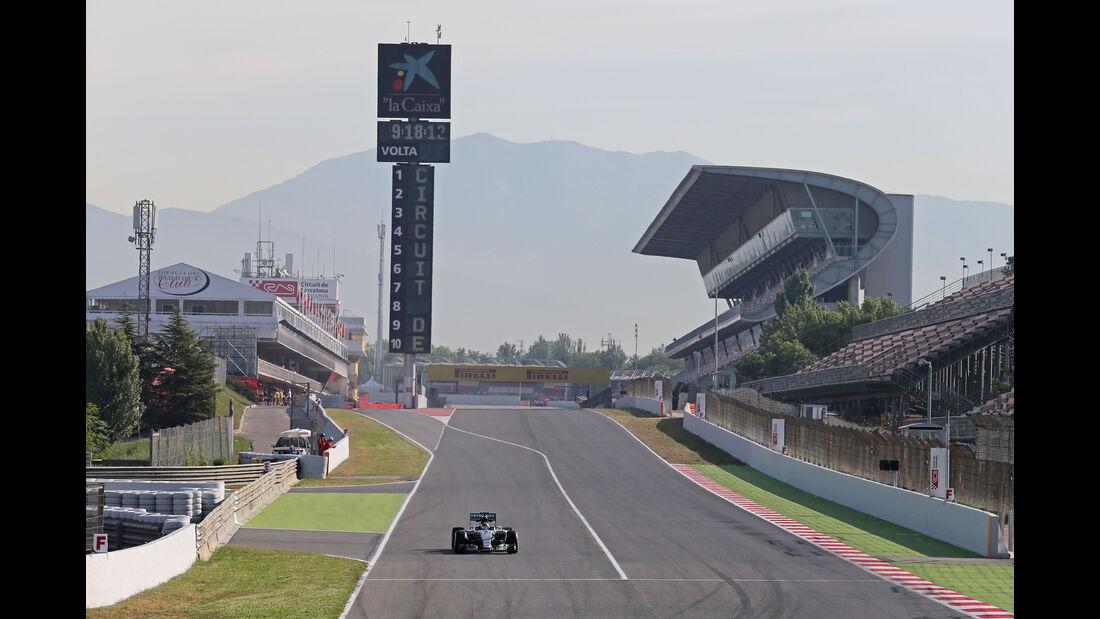 Nico Rosberg - Mercedes - Barcelona-Test - 12. Mai 2015