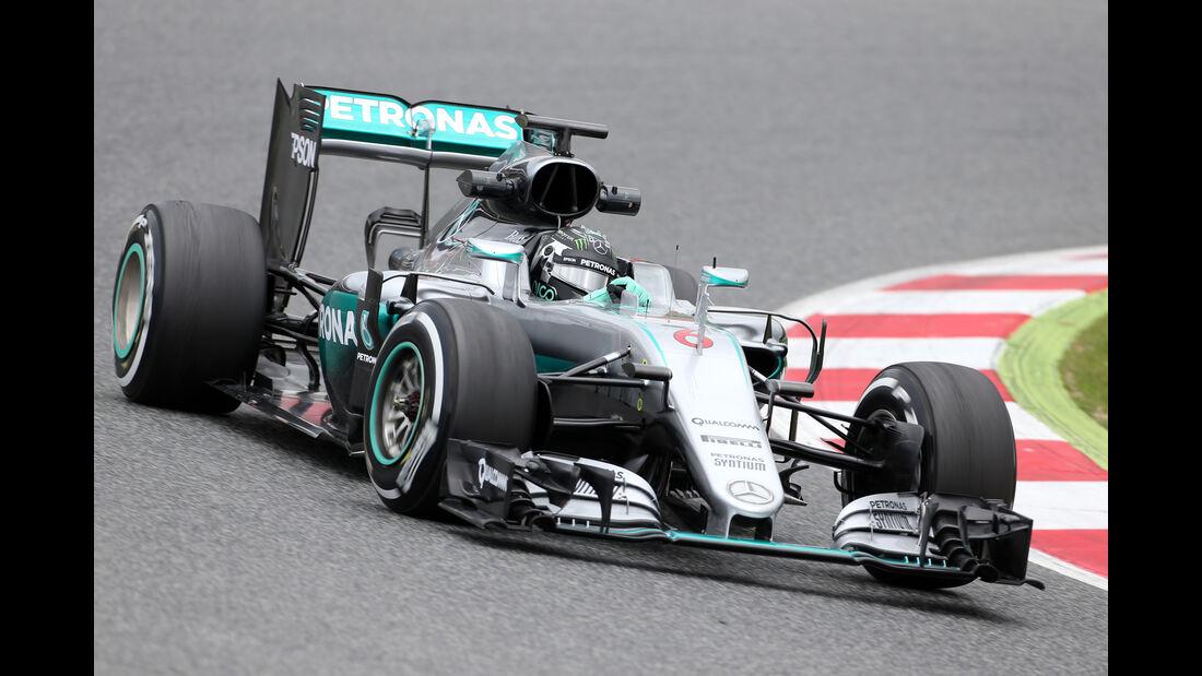 Nico Rosberg - Mercedes - Barcelona-Test - 17. Mai 2016