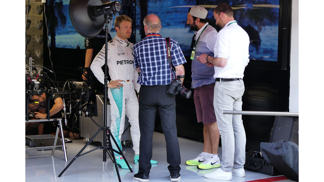 Nico Rosberg - Mercedes - F1 - GP Spanien - Barcelona - Donnerstag - 12.5.2016