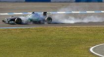 Nico Rosberg - Mercedes - F1-Test Jerez 2012