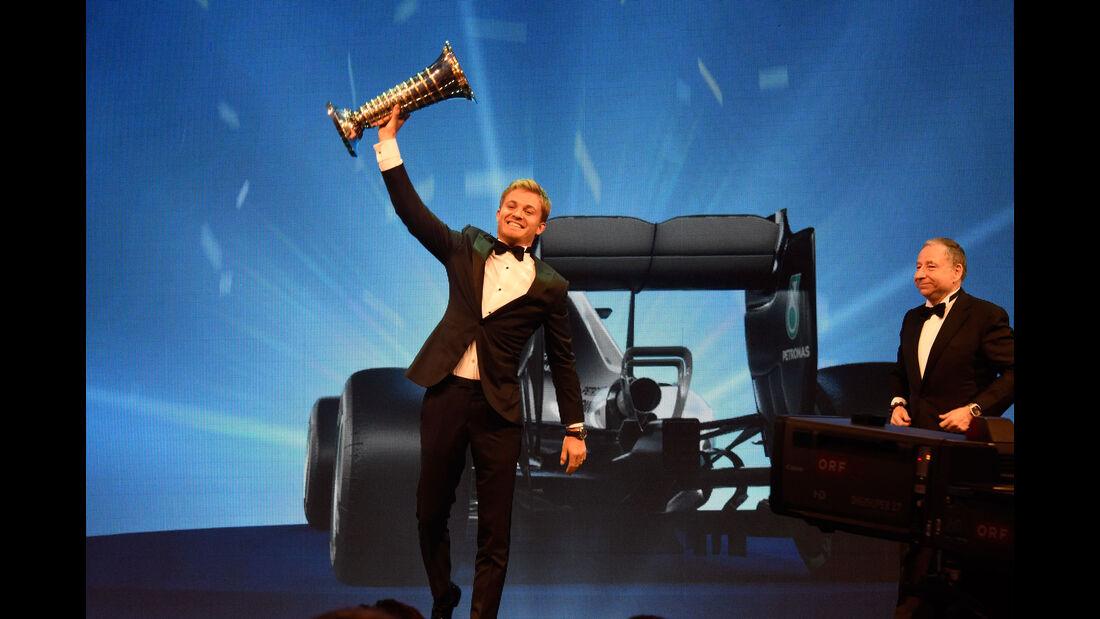 Nico Rosberg - Mercedes - FIA-Gala 2016 - Preisverleihung