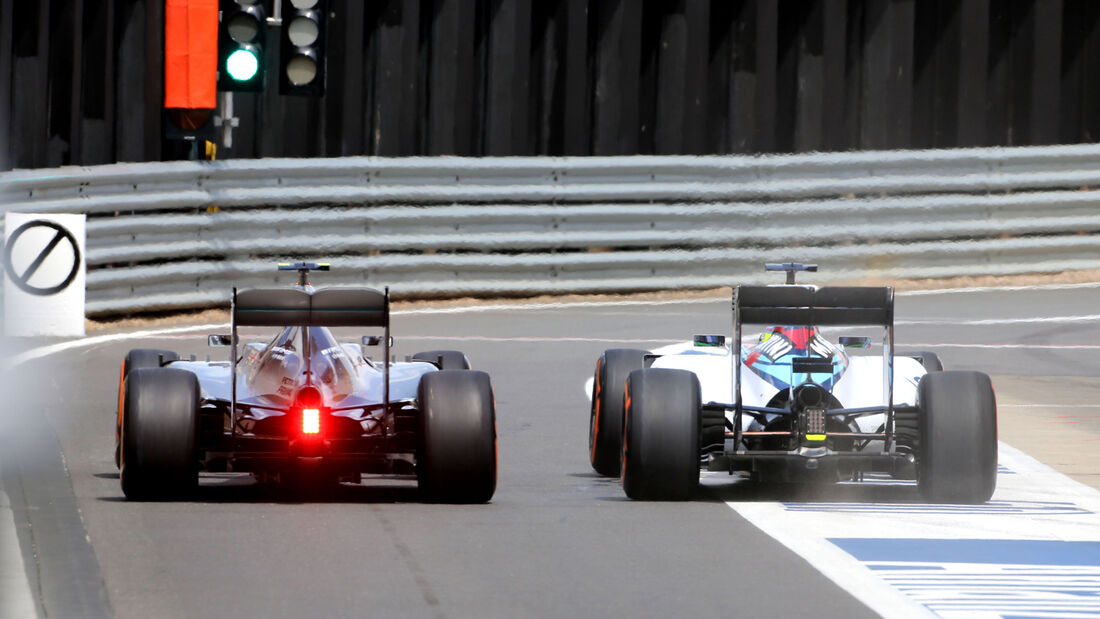 Nico Rosberg - Mercedes - Felipe Massa - Williams - GP England - Silverstone - Rennen - Sonntag - 5.7.2015