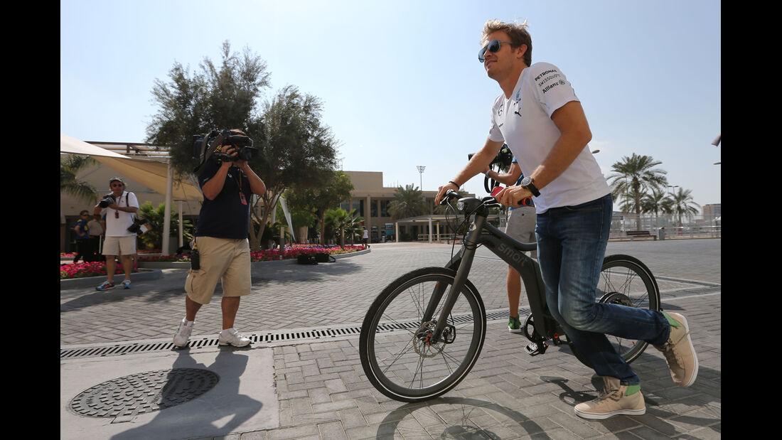 Nico Rosberg - Mercedes - Formel 1 - GP Abu Dhabi - 20. November 2014