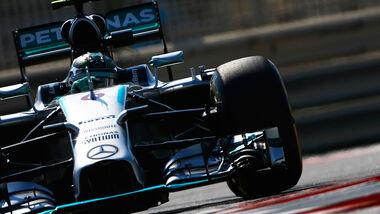 Nico Rosberg - Mercedes - Formel 1 - GP Abu Dhabi - 21. November 2014
