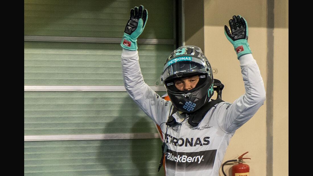Nico Rosberg - Mercedes - Formel 1 - GP Abu Dhabi - 22. November 2014