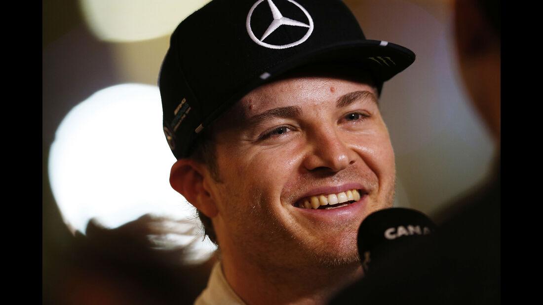 Nico Rosberg - Mercedes - Formel 1 - GP Abu Dhabi - 26. November 2016