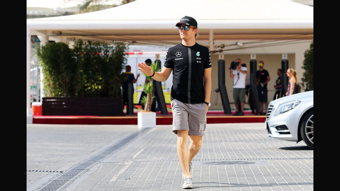 Nico Rosberg - Mercedes - Formel 1 - GP Abu Dhabi - 27. November 2015