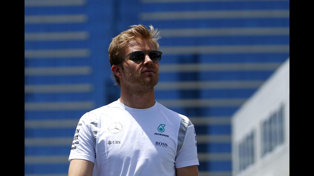 Nico Rosberg - Mercedes - Formel 1 - GP Aserbaidschan - Baku - 16. Juni 2016