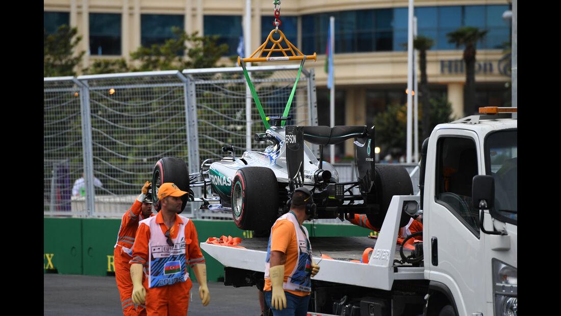Nico Rosberg - Mercedes - Formel 1 - GP Aserbaidschan - Baku - 17. Juni 2016