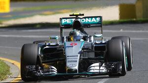 Nico Rosberg - Mercedes - Formel 1 - GP Australien - 13. März 2015