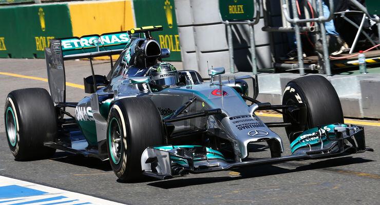 Nico Rosberg - Mercedes - Formel 1 - GP Australien - 14. März 2014