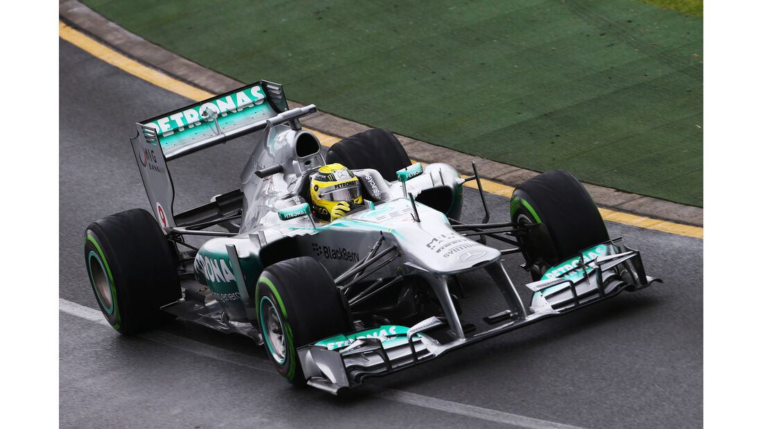 Nico Rosberg - Mercedes - Formel 1 - GP Australien - 16. März 2013