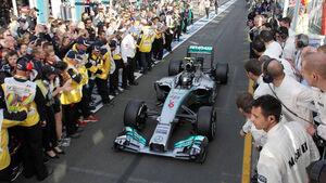 Nico Rosberg - Mercedes - Formel 1 - GP Australien - 16. März 2014