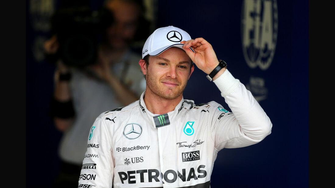 Nico Rosberg - Mercedes - Formel 1 - GP Australien - Melbourne - 14. März 2015
