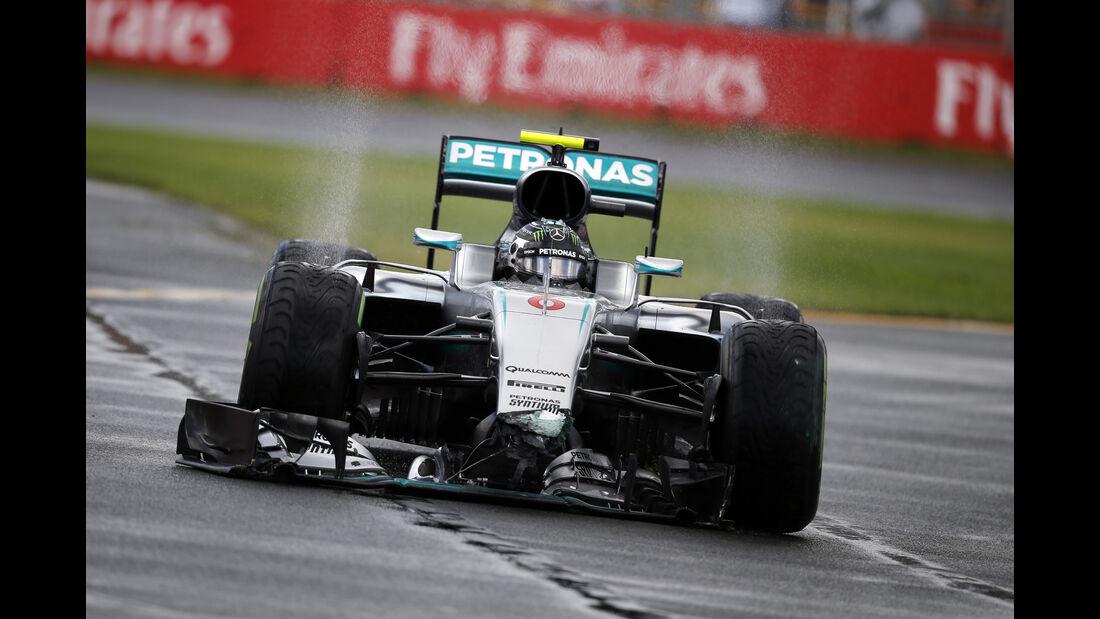 Nico Rosberg - Mercedes - Formel 1 - GP Australien - Melbourne - 18. März 2016