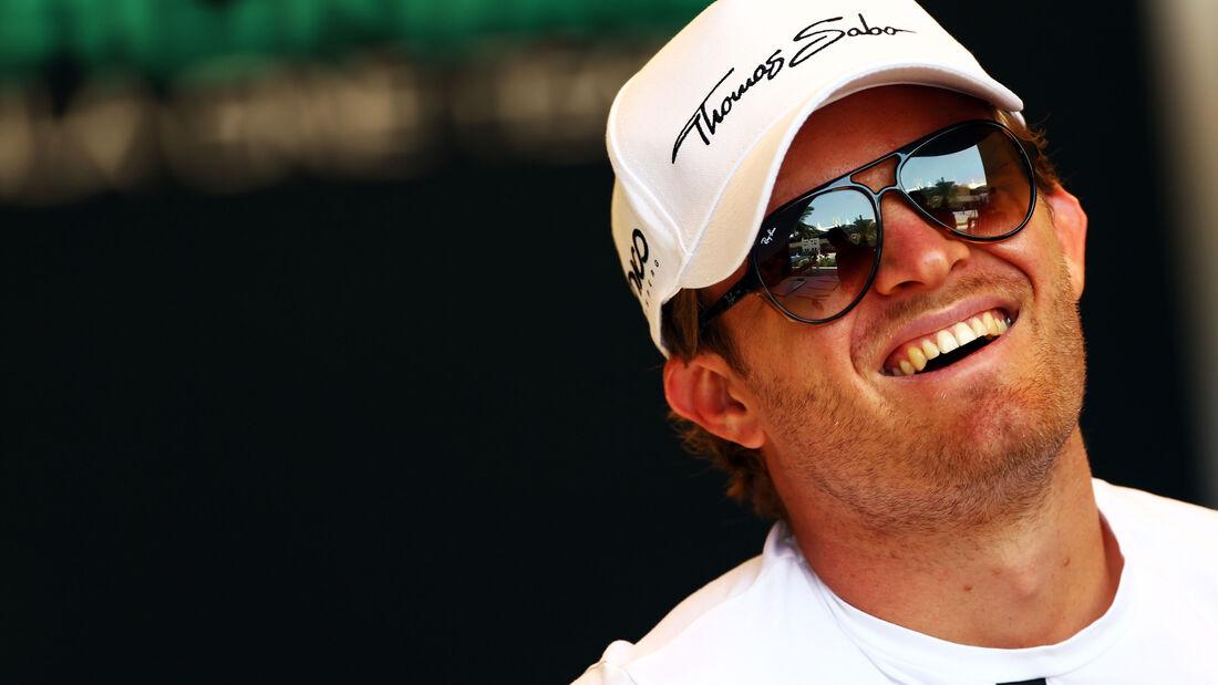 Nico Rosberg - Mercedes - Formel 1 - GP Bahrain - 16. April 2015