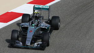 Nico Rosberg - Mercedes - Formel 1 - GP Bahrain - 17. April 2015