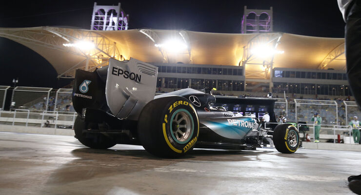 Nico Rosberg - Mercedes - Formel 1 - GP Bahrain - 18. April 2015