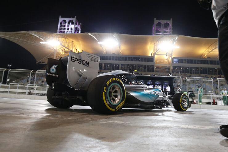 Nico Rosberg - Mercedes - Formel 1 - GP Bahrain - 18. April 2015