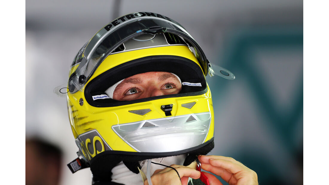Nico Rosberg - Mercedes - Formel 1 - GP Bahrain - 19. April 2013